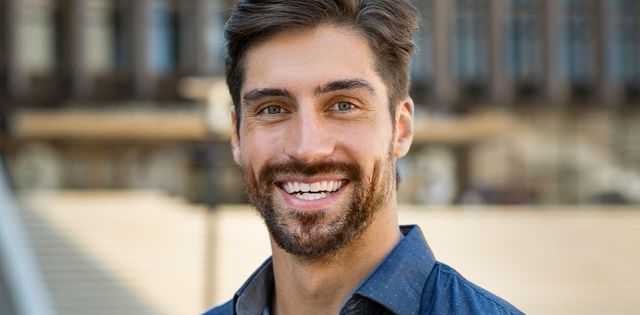Bartwuchs nach der Anwendung des Bartwuchsmittel zum Bartwuchs fördern