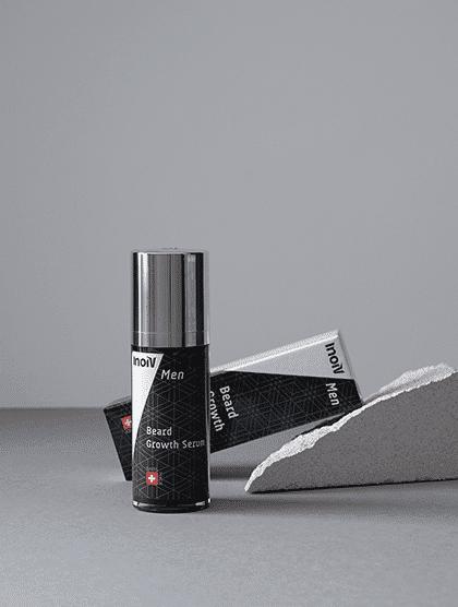 Inoiv Men - Beard Growth Serum - Booster naturellement la croissance de la barbe