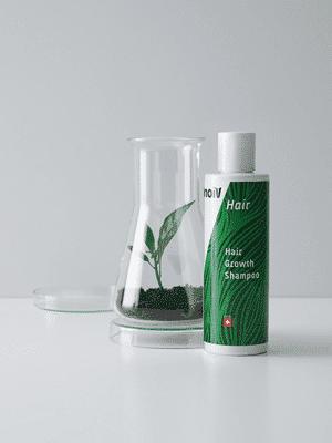 Inoiv Hair - Hair Growth Shampoo - Shampooing d'origine suisse avec de la caféine et des extraits de plantes