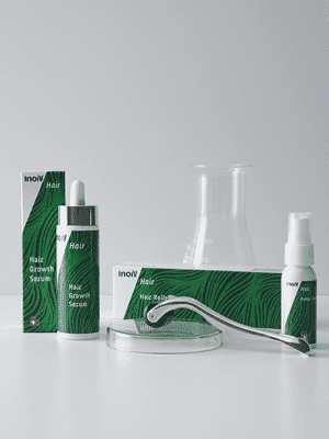 Inoiv Hair - Hair Growth Serum - Anti-Haarausfall-Set zum Haarwuchs fördern