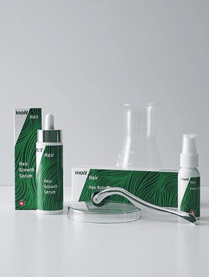 Inoiv Hair - Set anti-chûte de cheveux