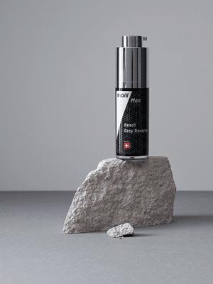 Inoiv Men - Beard Grey Reverse - Serum zur Wiederherstellung der natürlichen Bartfarbe
