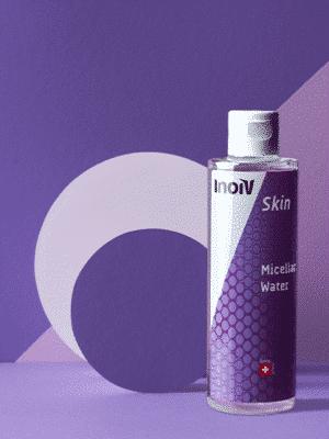 Inoiv Skin - Micellar Water - Testée sous contrôle dermatologique – convient particulièrement aux peaux sensibles