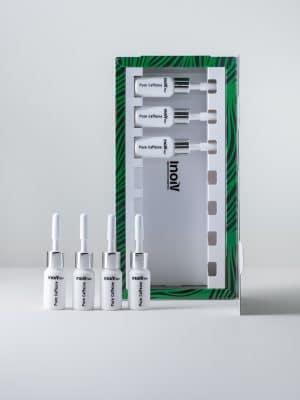 Inoiv Hair - Pure Caffeine - Ampullen Set unterstützt gesundes Haarwachstum