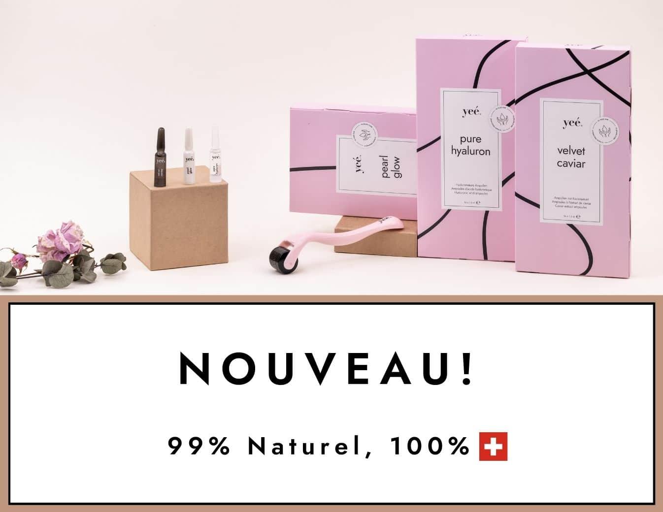 Yeé Cosmetics - Acide Hyaluronique Ampouls, caviar Ampouls und Pearl Glow Ampouls, Hyaluron