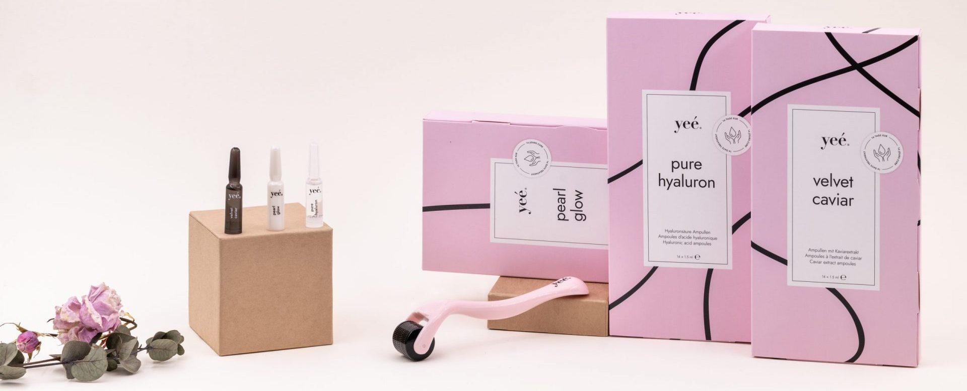 Yeé Cosmetics - 99% Natürlich, vegan, Swiss Made mit Hyaluronsäure, Kaviar Extrakt und Perl Glow